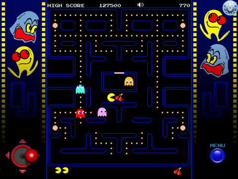 pacman ipad Classic Games for iPad – Chess, PAC MAN, Tetris, Pinball, and more!